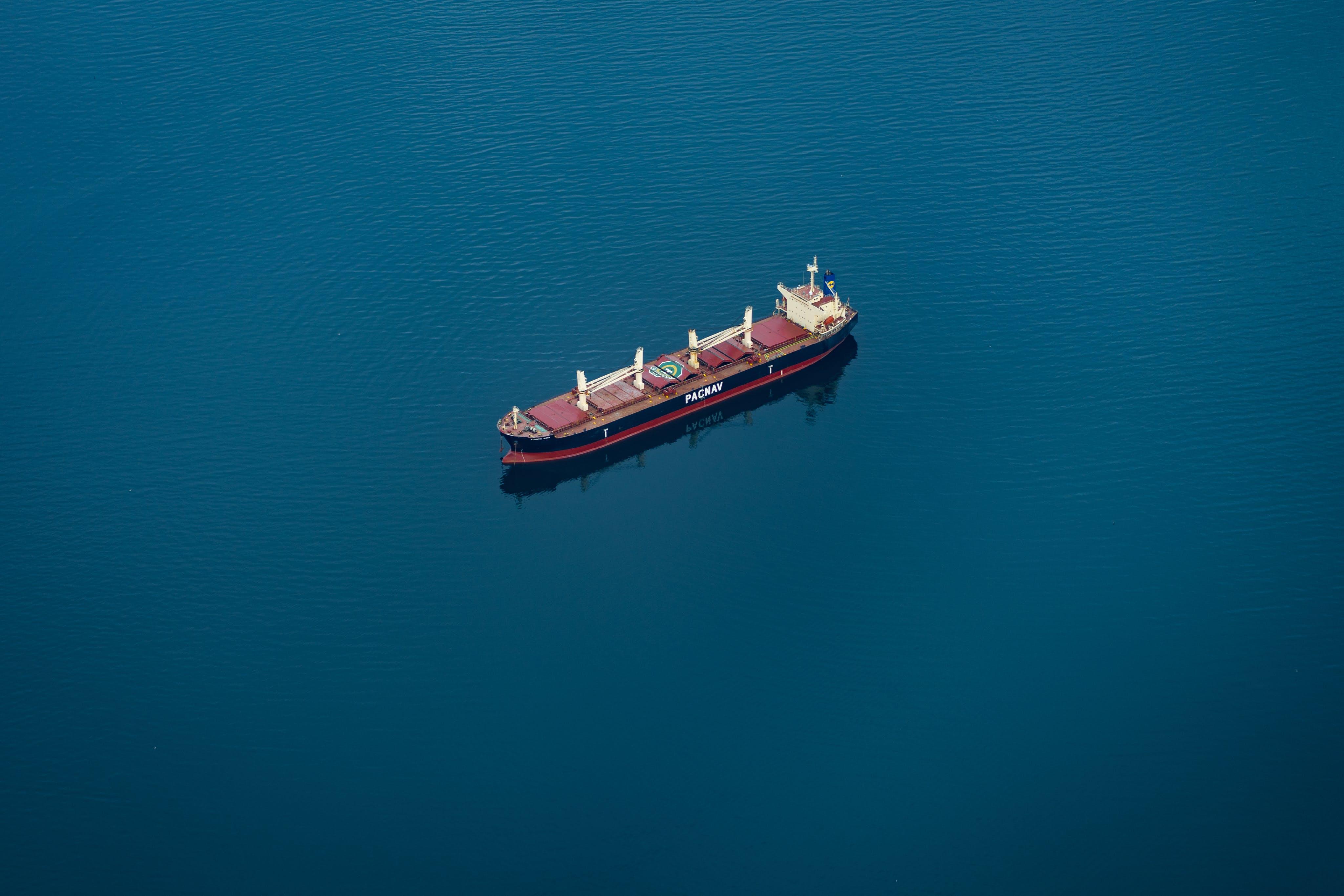 Kostnadsfri bild av antenn, båt, blå, Flygfotografering