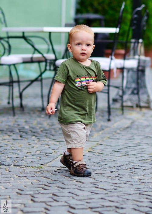 Foto d'estoc gratuïta de bebè, cos sencer, estiu, verd