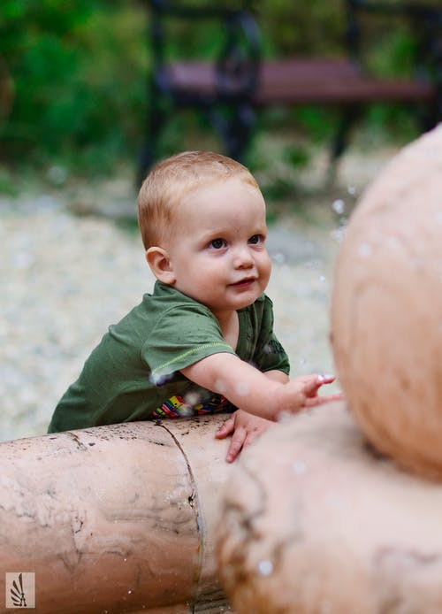 Free stock photo of baby, blond, cute