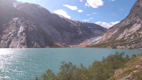 冰河, 山, 山峰 的 免費圖庫相片