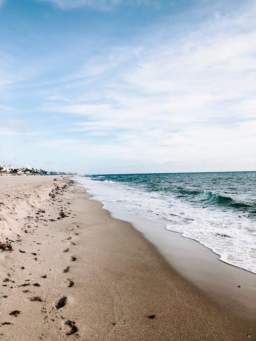 açık hava, ada, dalgalar, deniz içeren Ücretsiz stok fotoğraf