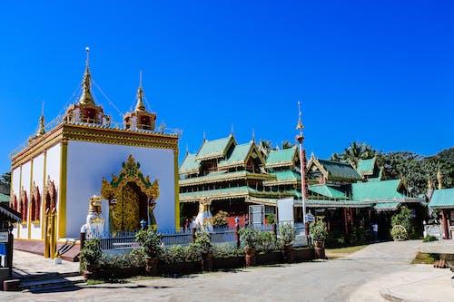 Základová fotografie zdarma na téma Asie, buddhismus, buddhistický chrám