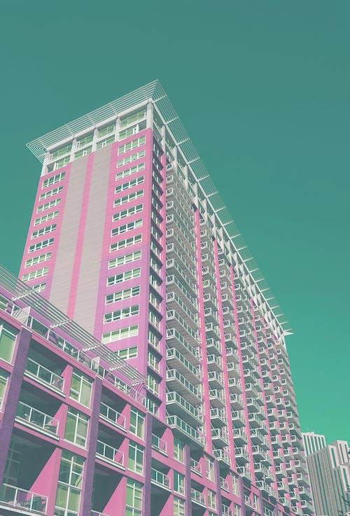 açık hava, apartman binası, bina içeren Ücretsiz stok fotoğraf