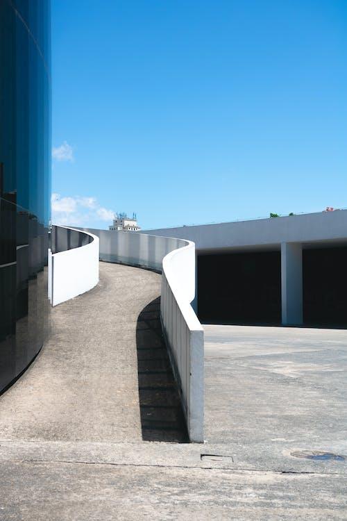 Gray Concrete Path Way