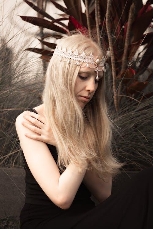Photos gratuites de albinos, blond, cheveux blonds, conte de fée
