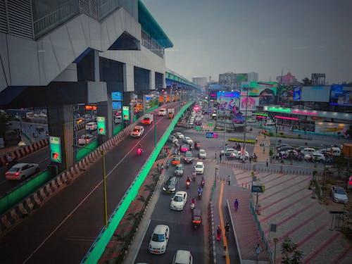 Ảnh lưu trữ miễn phí về #mobilechallenge, Ấn Độ, ánh đèn thành phố, bận