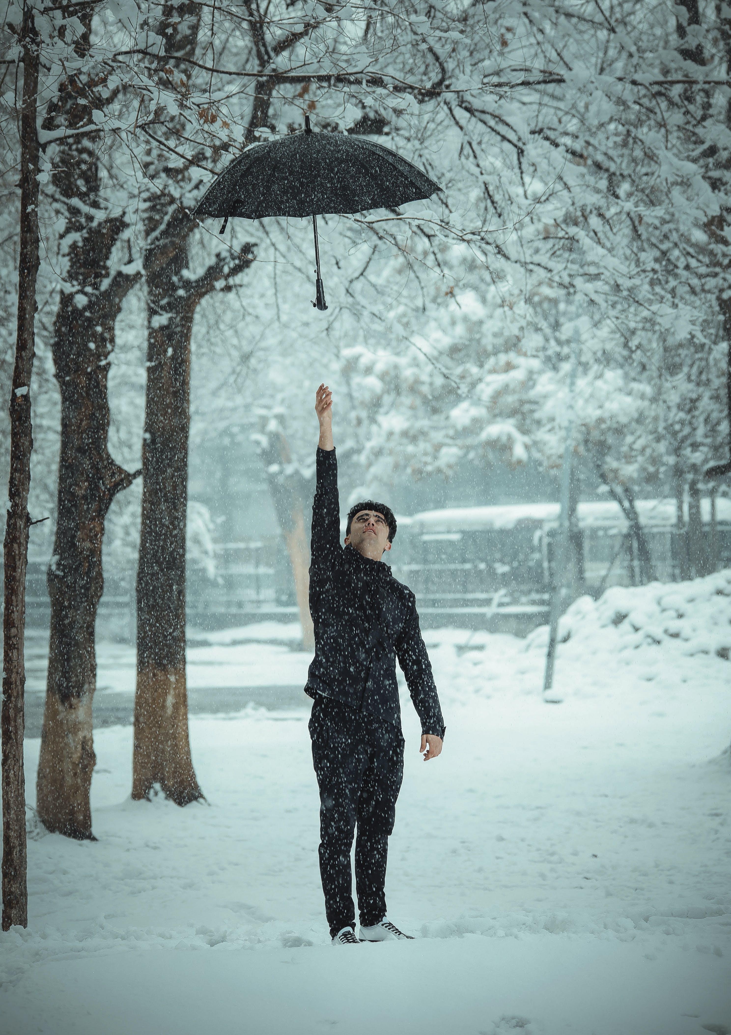 Free stock photo of beautiful, black clothes, fallen tree, falling