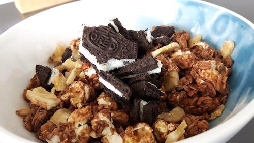 Free stock photo of biscuit, indulgence, muesli, tasty