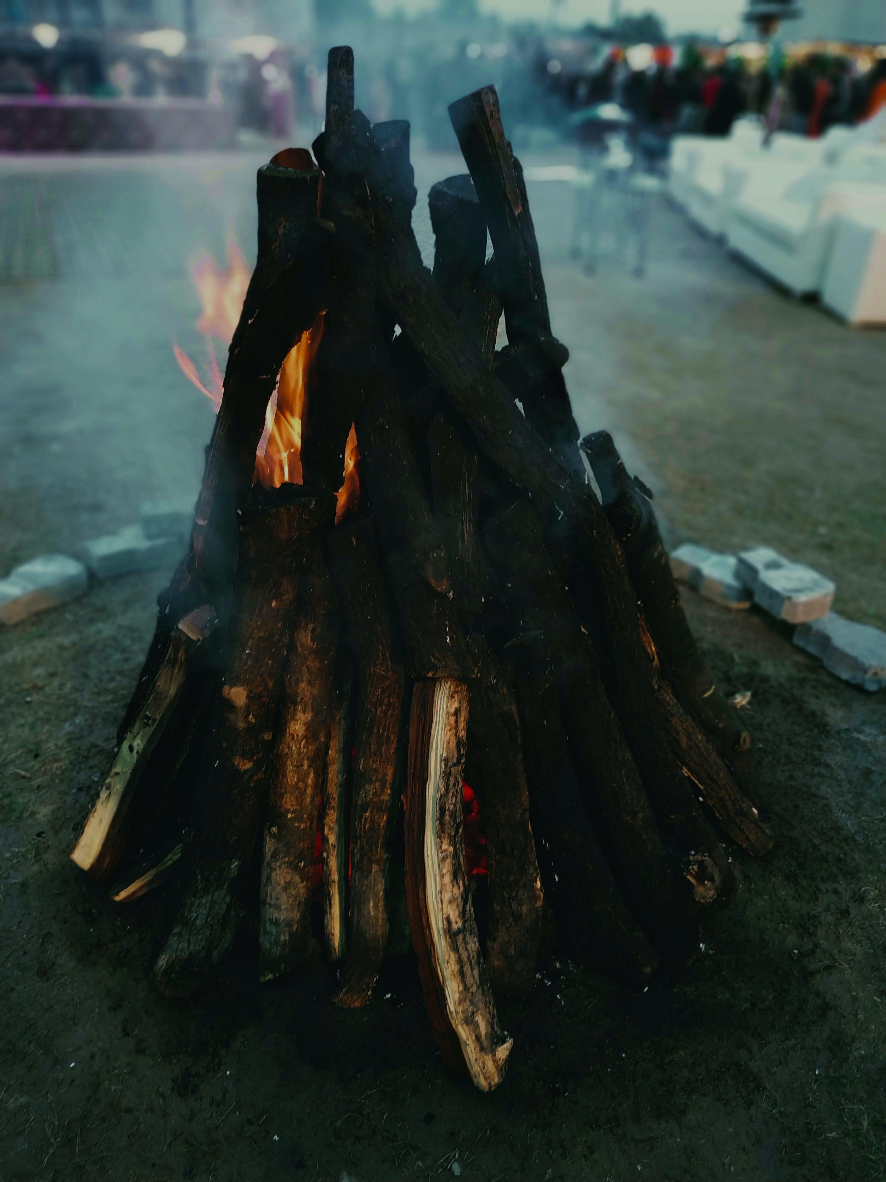 Free stock photo of atmospheric evening, bonfire, dark, vertical