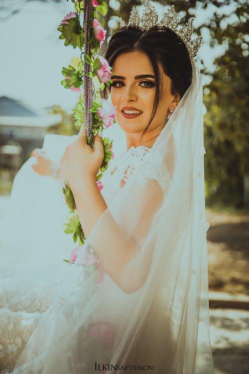결혼식 소녀, 웨딩, 초상화의 무료 스톡 사진