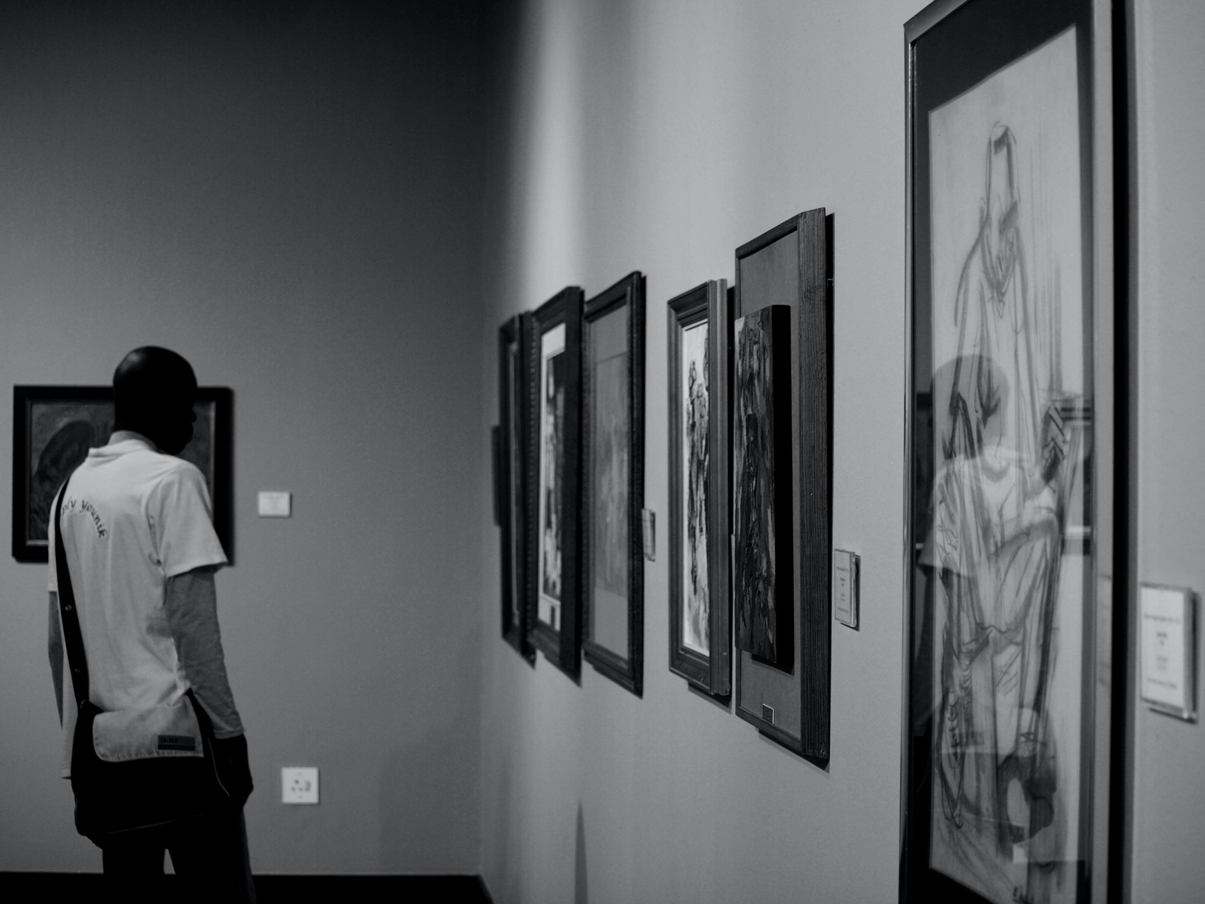 #bnw, #duvar, #fotoğraf, #gallery içeren Ücretsiz stok fotoğraf