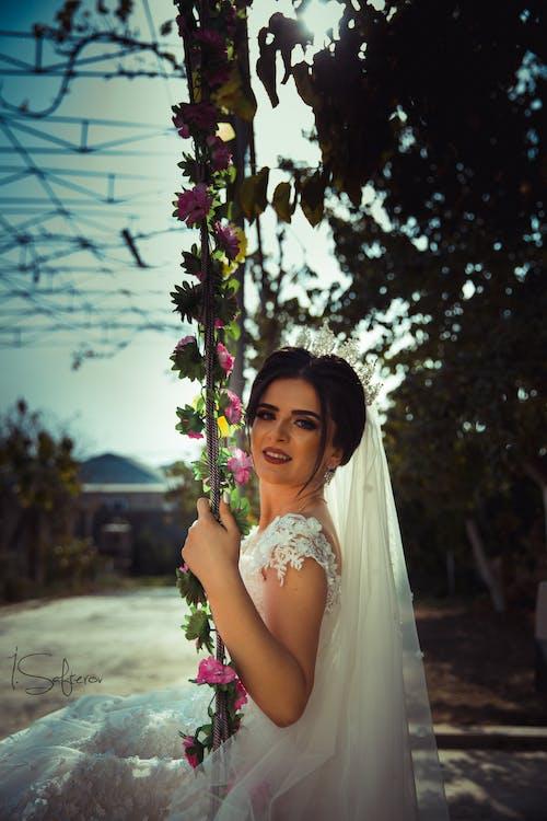 Free stock photo of girl, girl portrait, portrait, Wedding girl
