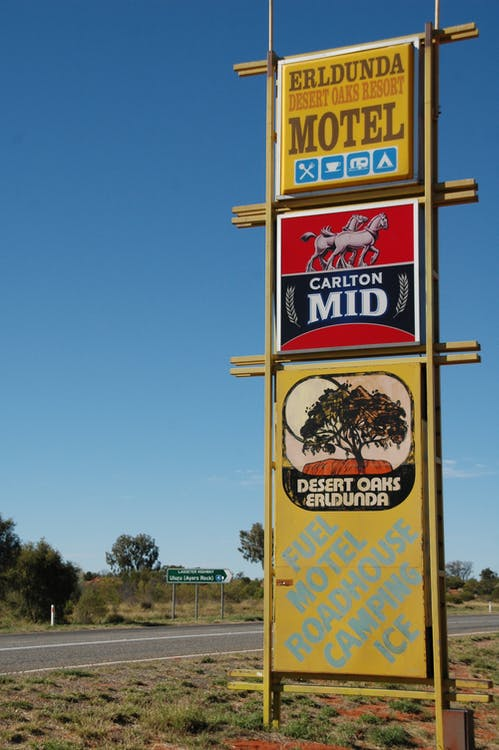 advertentie, Australië, bewegwijzering