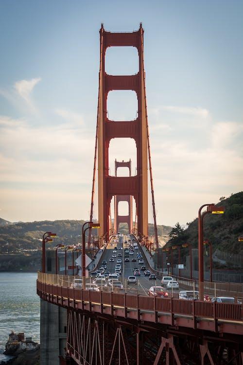ゴールデンゲートブリッジ, サンフランシスコ, ブリッジ, 米国の無料の写真素材