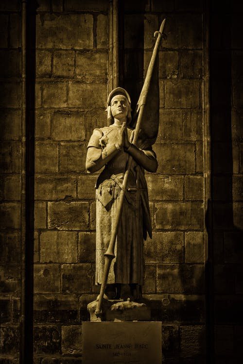 ノートルダム, パリ, フランス, 像の無料の写真素材
