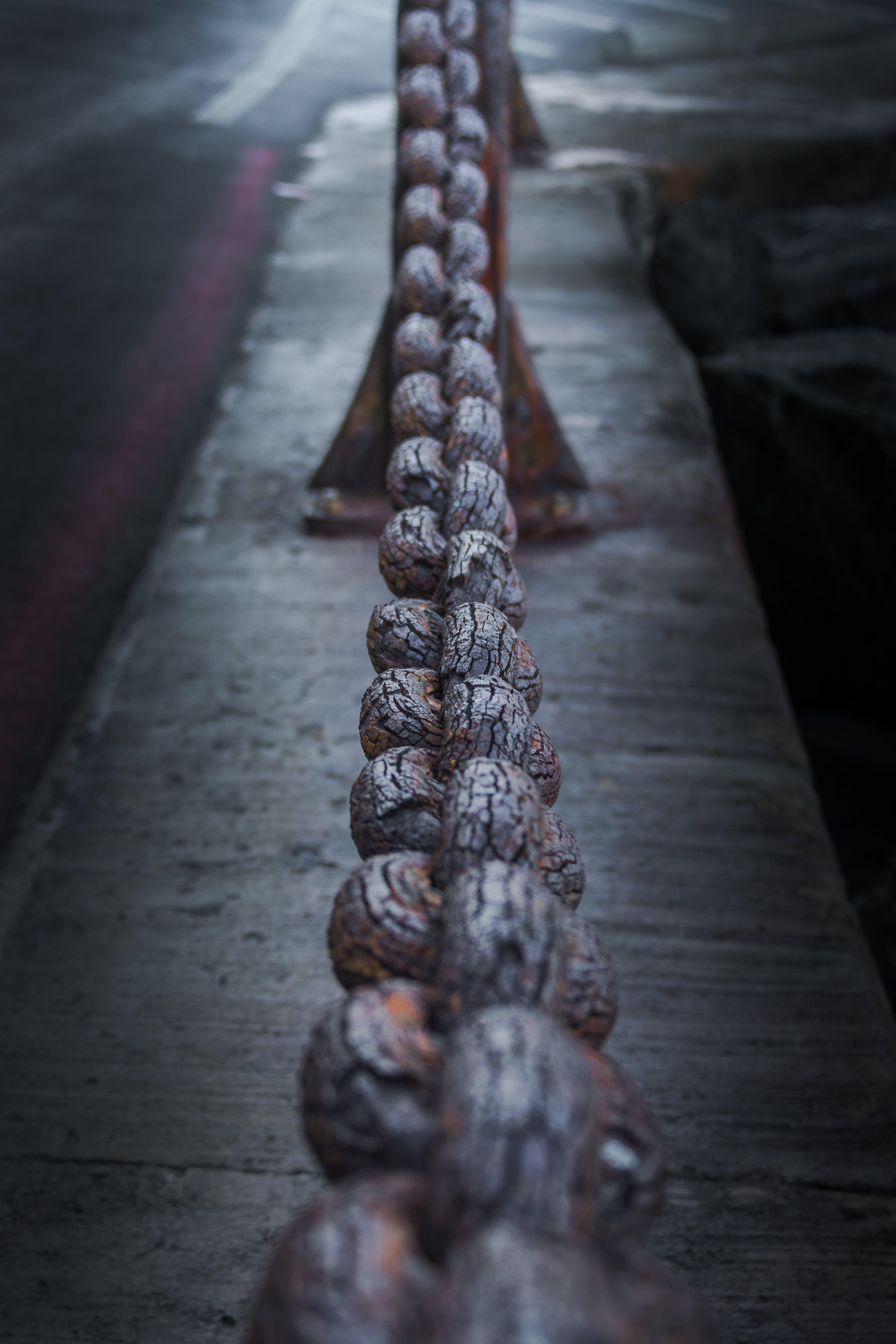 Základová fotografie zdarma na téma most Golden Gate, řetěz, rez, San Francisco