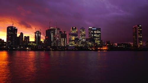 Free stock photo of buildings, canary wharf, city, cityscape