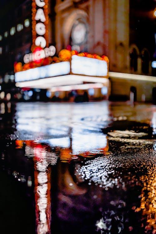 商業, 城市, 夜燈, 巷道 的 免費圖庫相片
