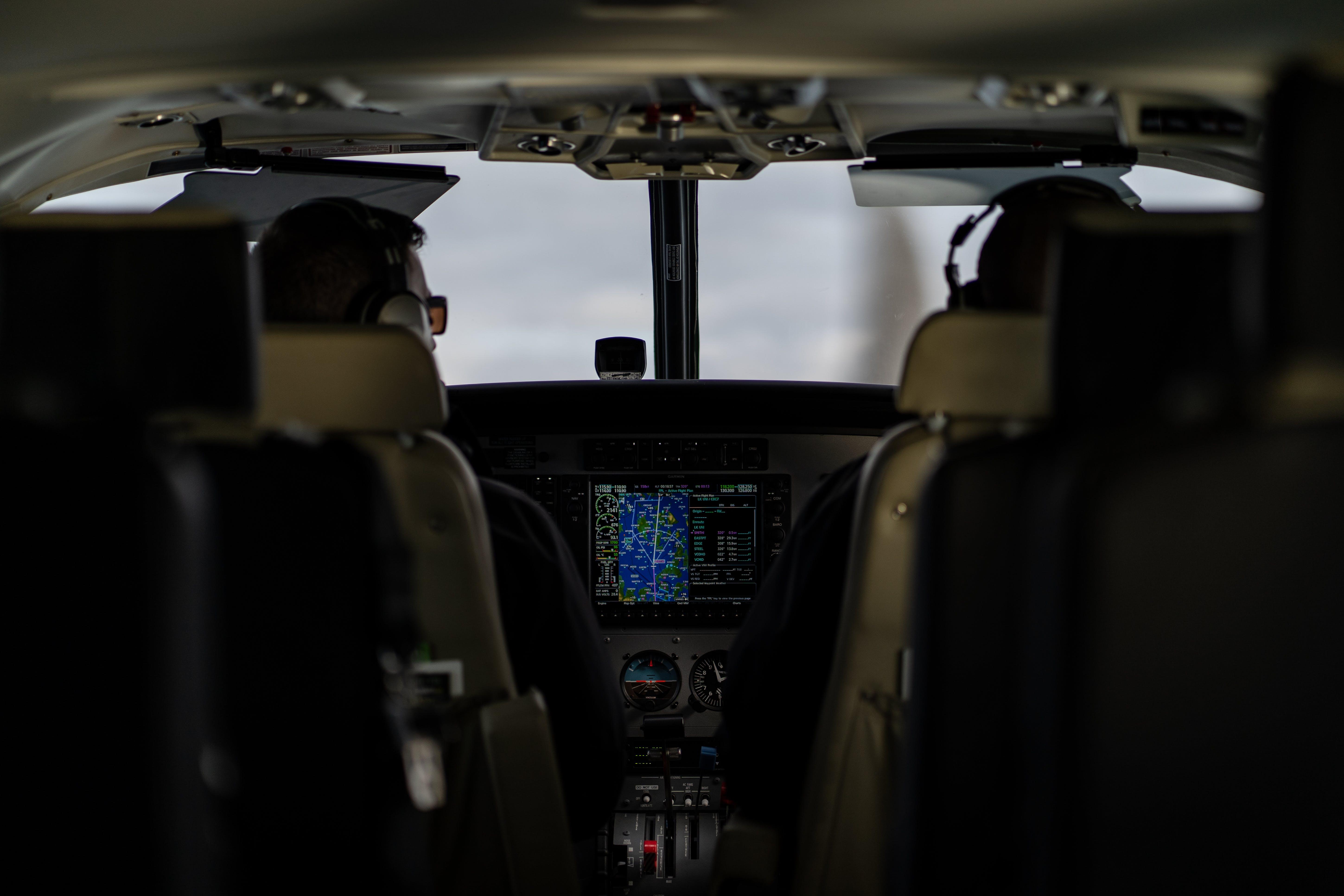 Kostnadsfri bild av cockpit, flygande, flygplan, garmin
