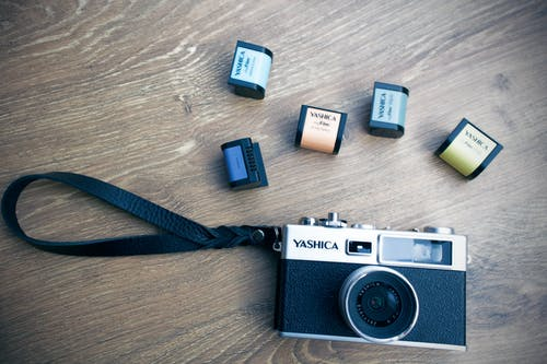 Gratis stockfoto met camera, digitale camera, film camera