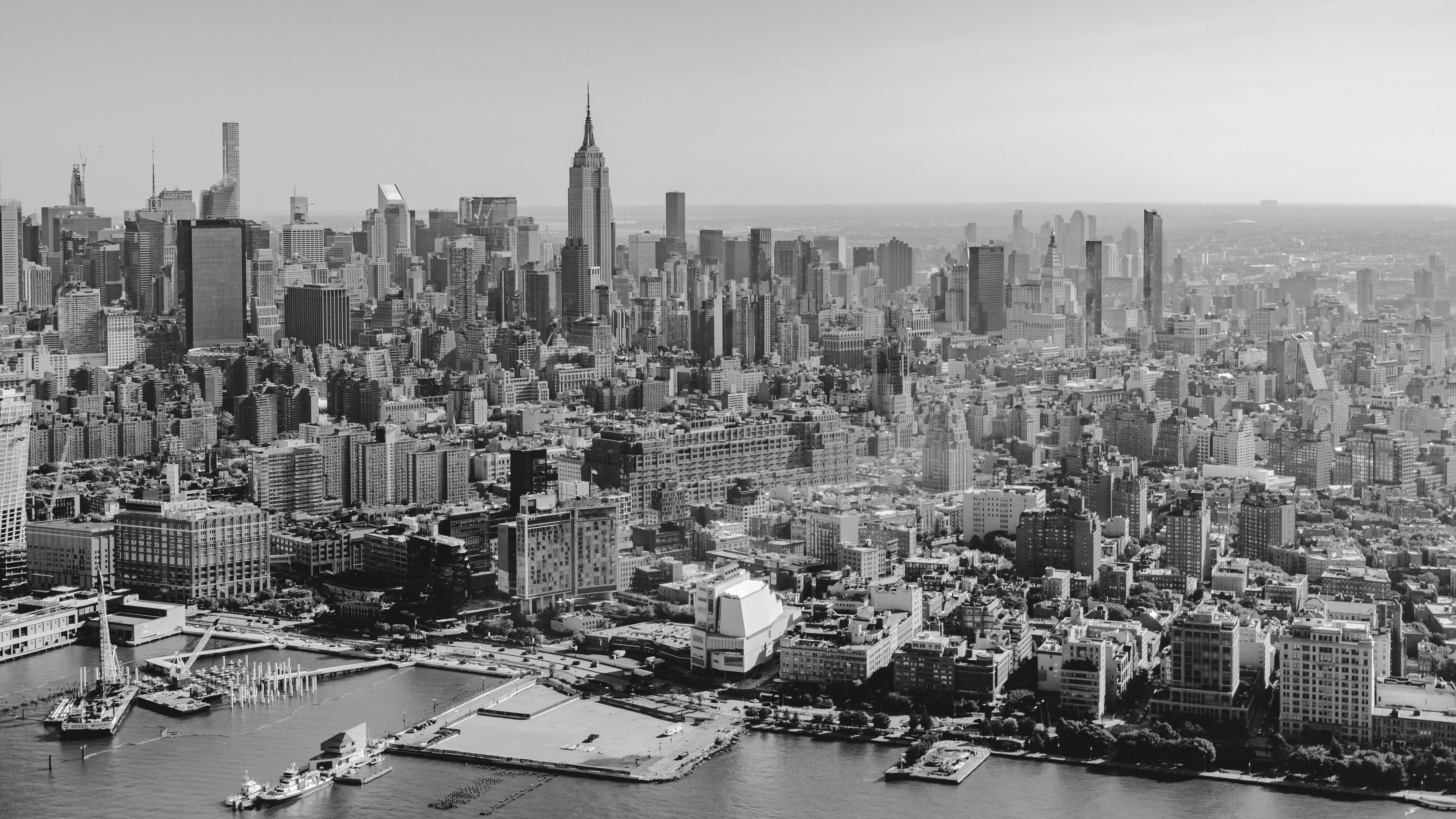 Free stock photo of aerial photography, cityscape, empire state building, new york city