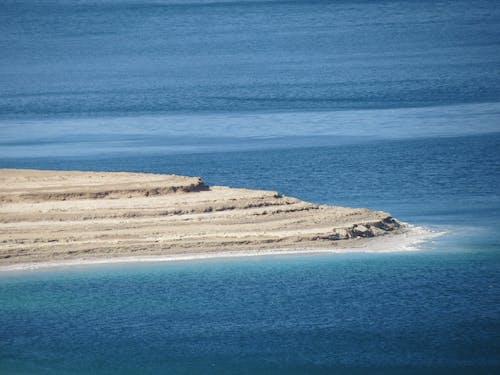 Immagine gratuita di acqua azzurra, azzurro, mar morto, strati