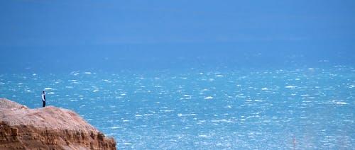 Immagine gratuita di acqua aperta, azzurro, ebraico, mar morto