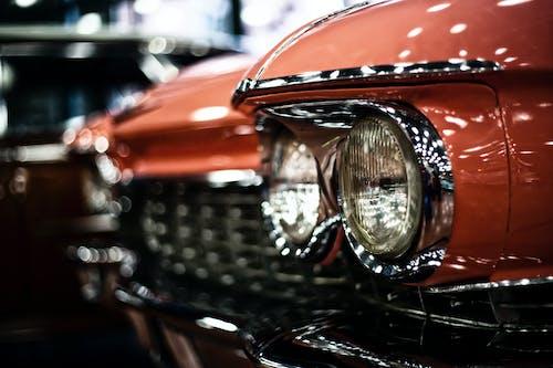 キャデラック, クラシック, クラシックカー, ヘッドライトの無料の写真素材