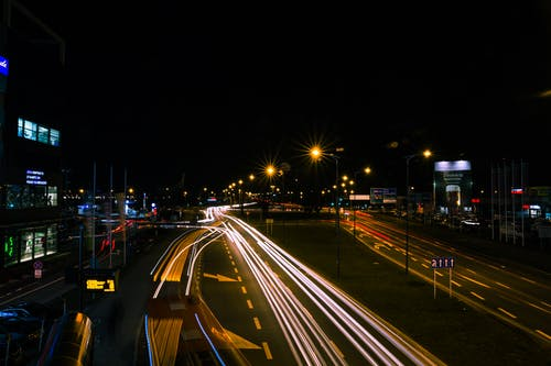 Immagine gratuita di esposizione, lunga esposizione, notte, polonia
