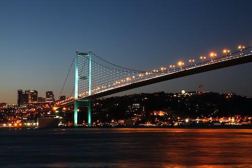 アジア, イスタンブール, コンチネンタル, ブリッジの無料の写真素材
