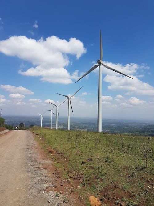 Foto profissional grátis de aventura, colinas de ngong, moinho de vento, nairobi