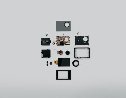 Fotobanka sbezplatnými fotkami na tému akčná kamera, elektronický, pokazený