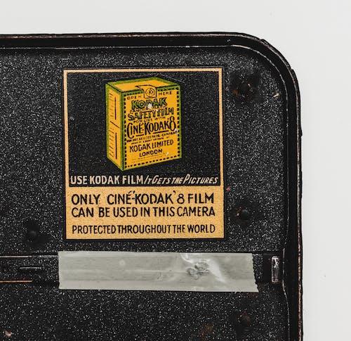Fotobanka sbezplatnými fotkami na tému 8mm, fotoaparát, Kodak