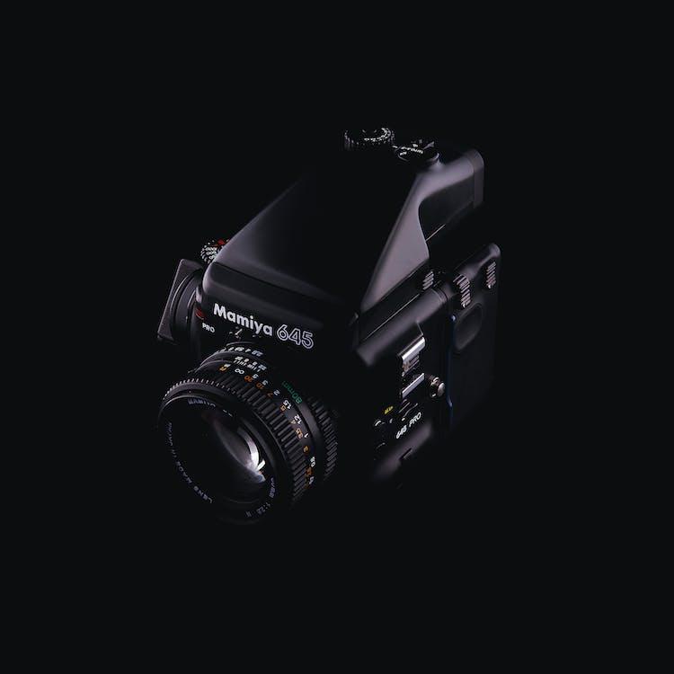 Analogique, appareil photo, capturer