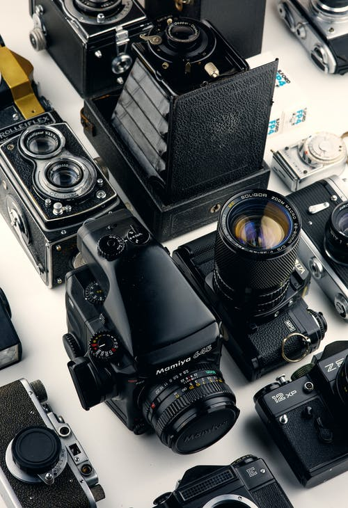 çeşitli Siyah Kameralar