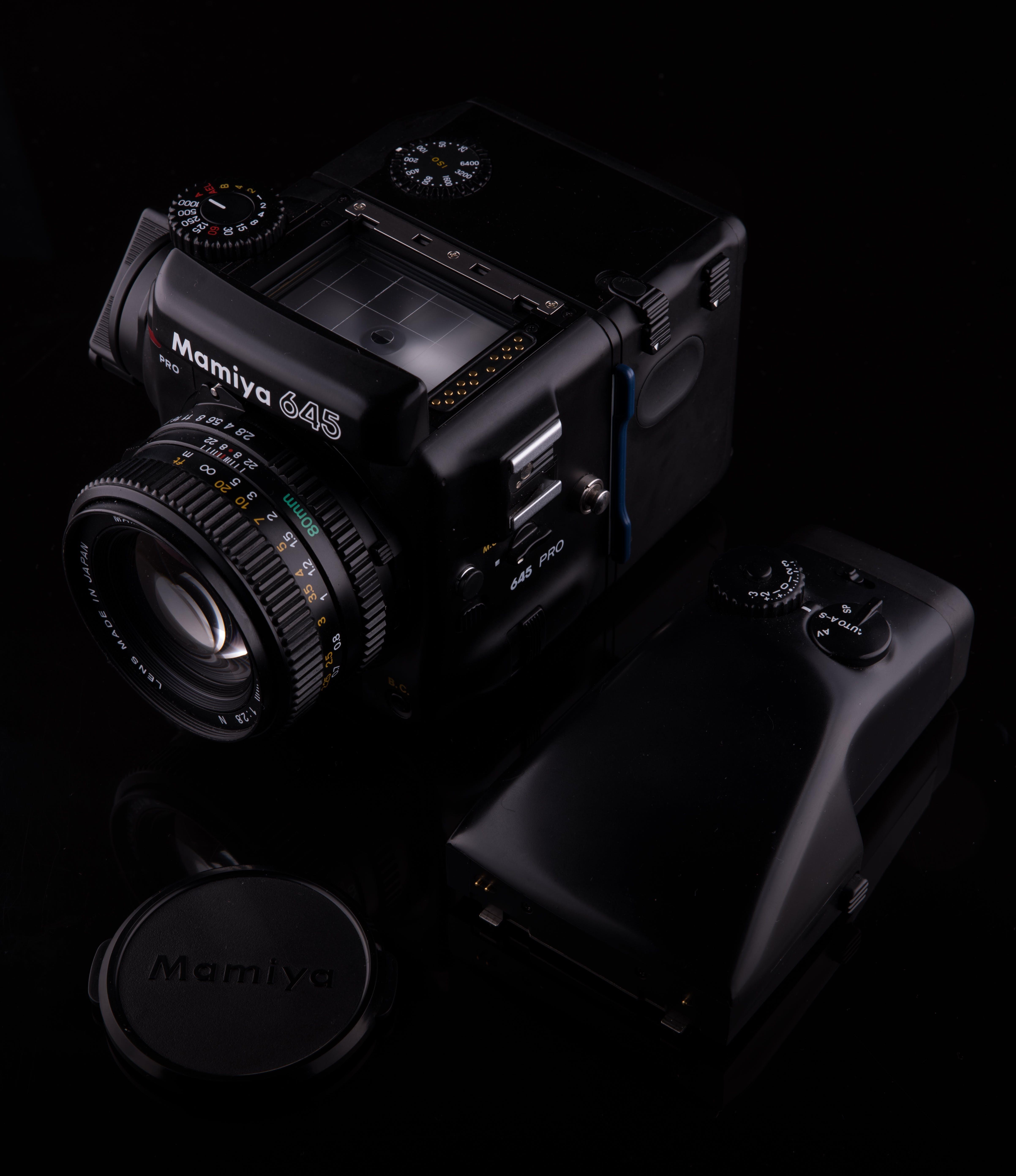 Black Mamiya Camera Set