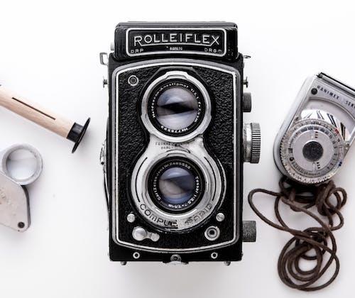 Gratis lagerfoto af analogt kamera, antik, årgang, close-up