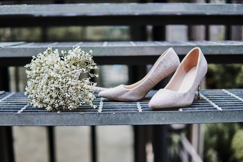 결혼식 신발의 무료 스톡 사진