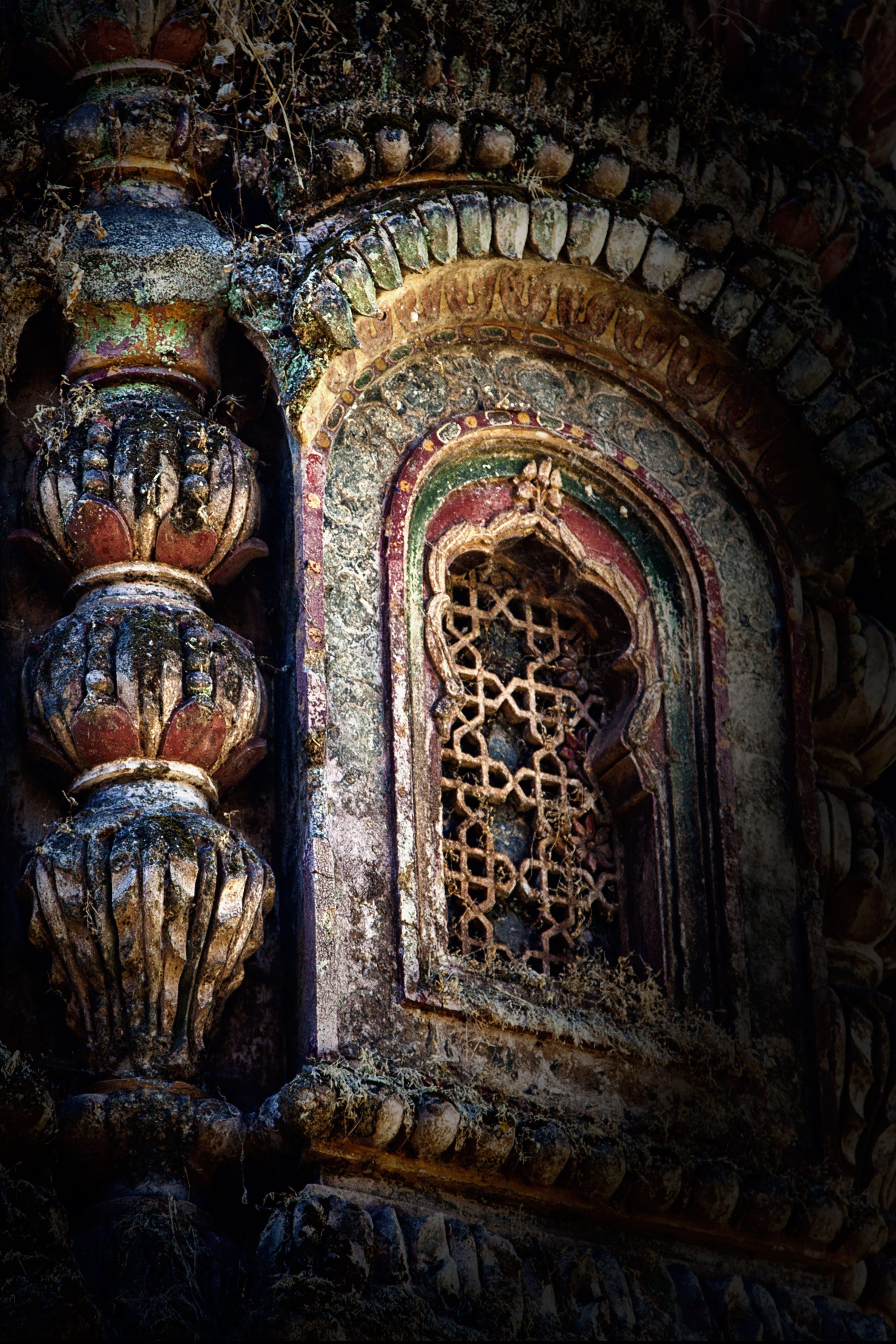 Foto profissional grátis de ancião, templo