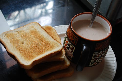 Free stock photo of chocolate milk, delicious, milk, toast