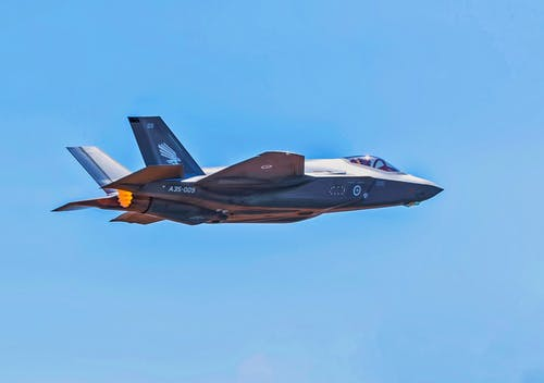 Free stock photo of aircraft, F-35A, fighter aircraft, image