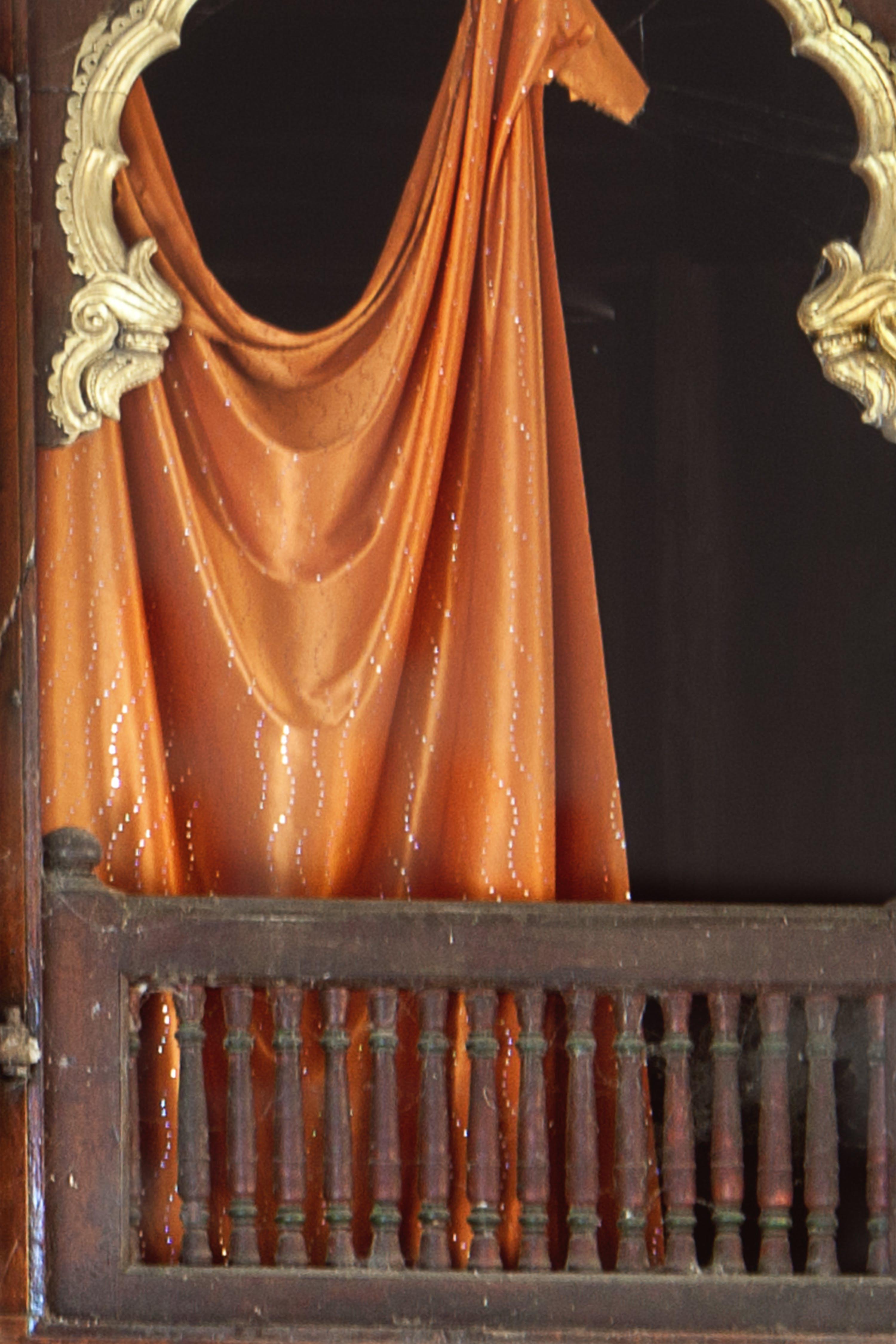 Free stock photo of art, curtain, window