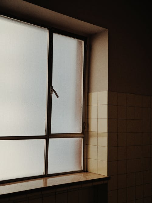 Photo of Frosted Glass Window