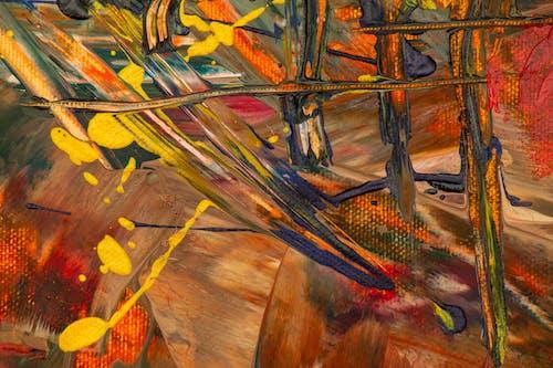 คลังภาพถ่ายฟรี ของ การทาสี, การแสดงออกทางนามธรรม, ความคิดสร้างสรรค์, จิตรกรรมนามธรรม