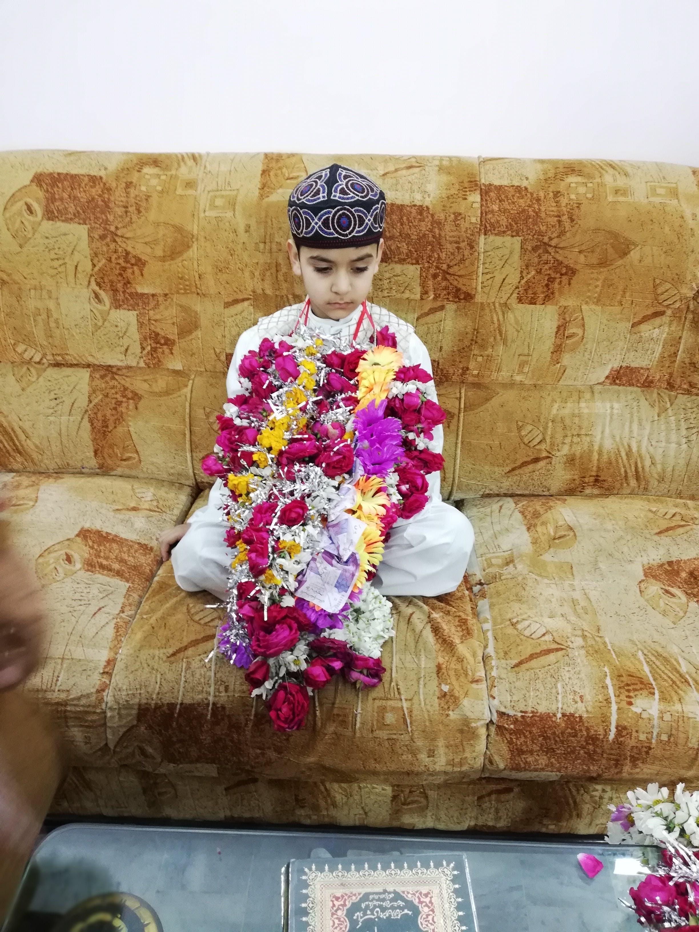 Kostenloses Stock Foto zu muslimisches kind