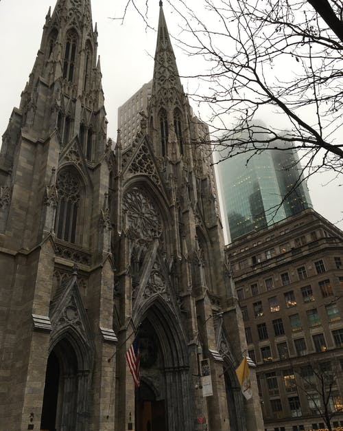 Free stock photo of ancient, cathedral, new york