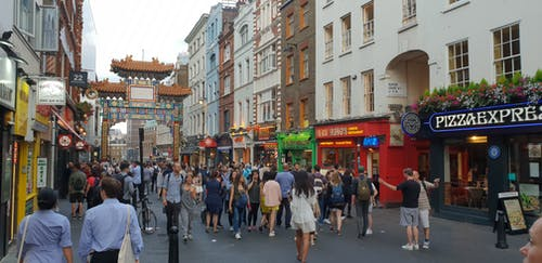 Foto d'estoc gratuïta de barri xinès, Londres