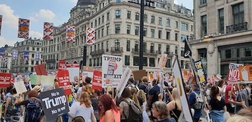 Foto d'estoc gratuïta de donald, donald trump, Londres, protesta