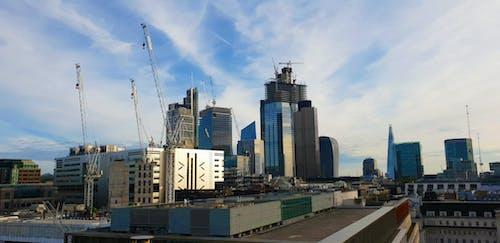 Foto d'estoc gratuïta de ciutat, destral, districte financer, edificis