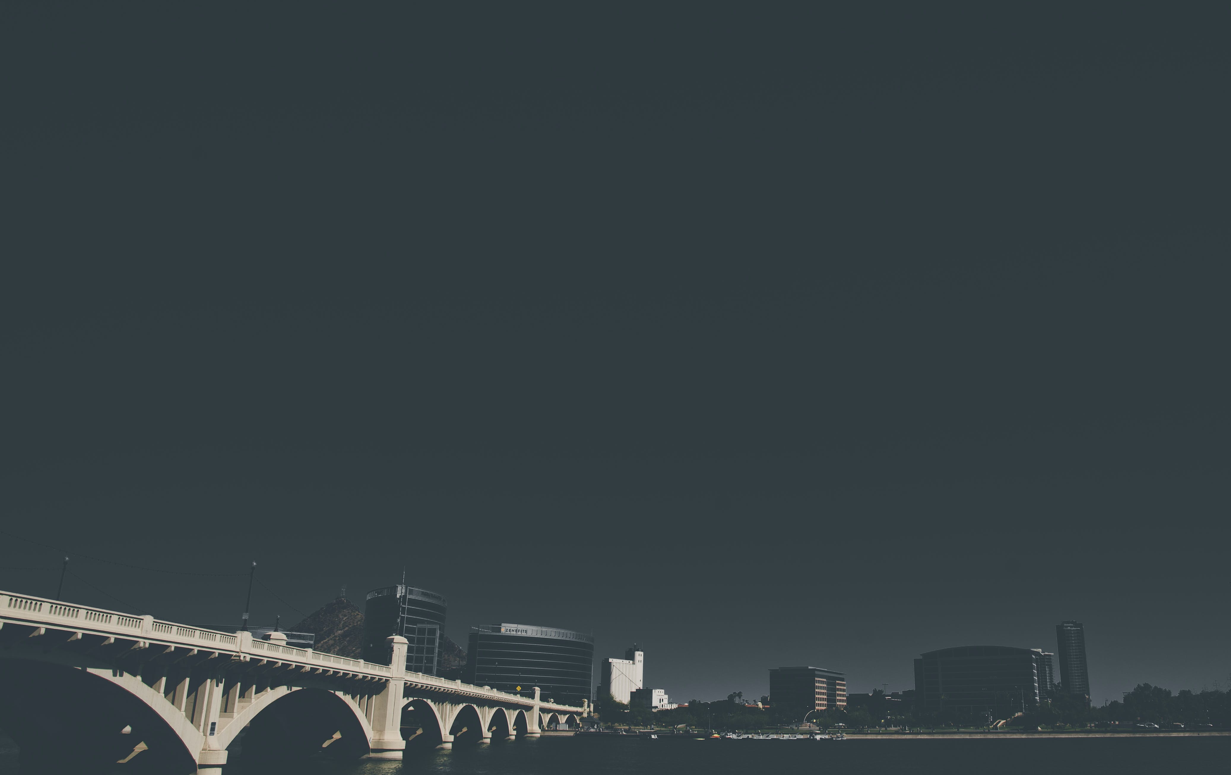 Free stock photo of arch bridge, arizona, city, cityscape